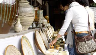 小鹿田焼民陶祭