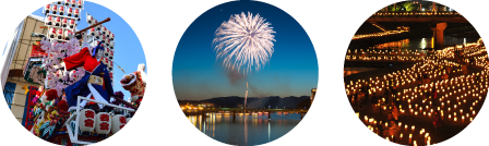 歴史深い町並み日田は観光地・イベントが盛りだくさん♪